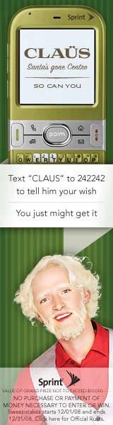 claus strange ad at digg