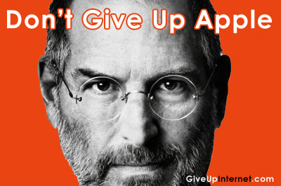 don't give up apple steve jobs