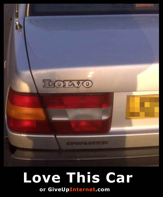 Lolvo - Love This Car or Give Up Internet