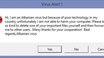 albanian-virus