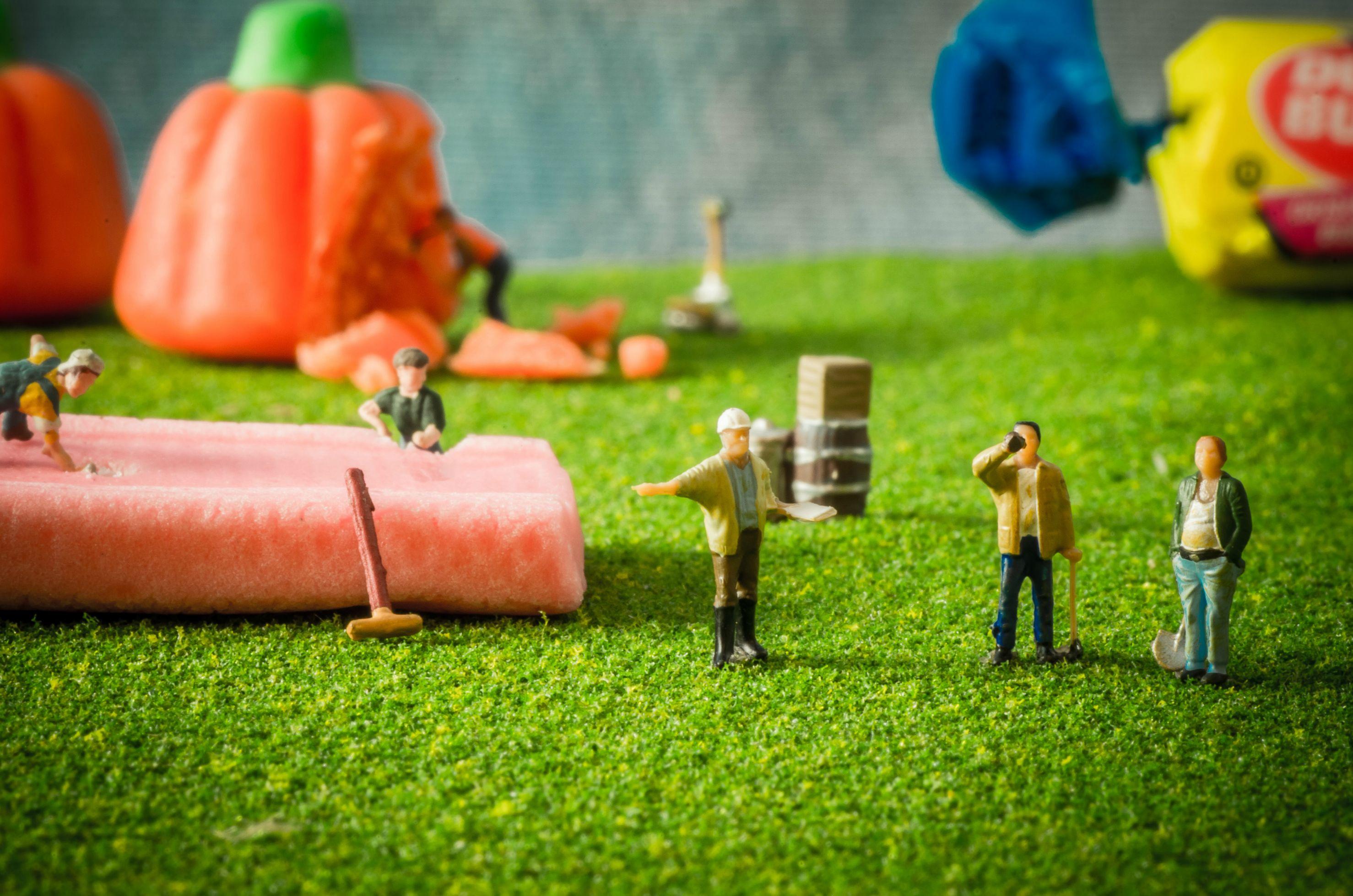 little people toy macro photography
