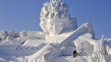 snow-sculpture