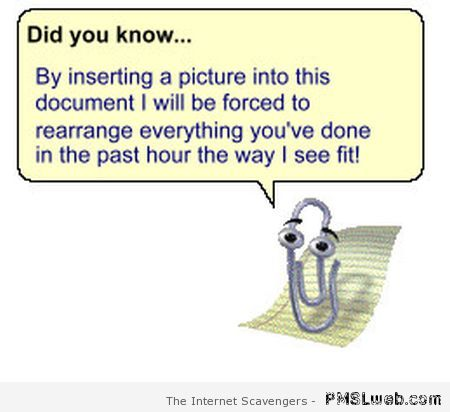 Microsoft-clippy-did-you-know-humor