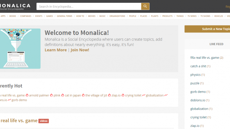 monalica encyclopedia